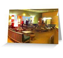 ccb. Café at Centro Cultural de Belém. (iPhone) Greeting Card