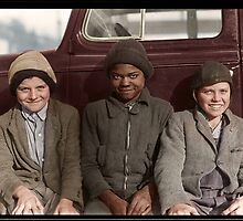 Children of miners, West Virginia. by PhotoRetrofit