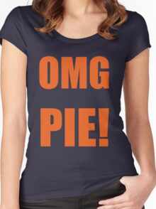 OMG PIE! Women's Fitted Scoop T-Shirt