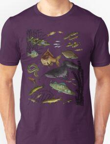 fresh water fish poissons riviere Unisex T-Shirt