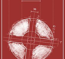 Team Fortress Logo Blueprint RED by Defstar