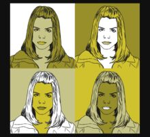 Rose Tyler in Warhol Monochrome by ErikaErisa
