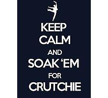 Soak 'Em for Crutchie!  Photographic Print