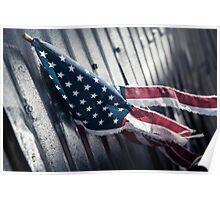 Tattered Patriot Poster