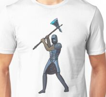 Guard with Axe 1 Unisex T-Shirt