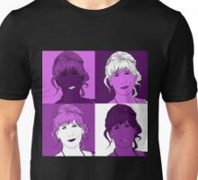 Donna Noble in Warhol Monochrome Unisex T-Shirt