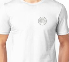 Simplistic Moon Unisex T-Shirt