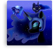 Luna Stages Canvas Print