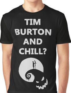 Tim Burton and Chill Graphic T-Shirt