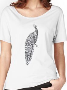 Ornate Peacock Women's Relaxed Fit T-Shirt