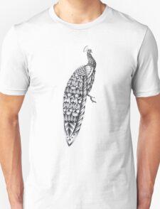 Ornate Peacock Unisex T-Shirt