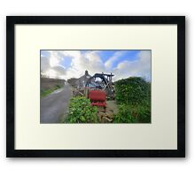 Cornwall: The Wayside Museum at Zennor Framed Print