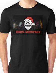 Mr Robot Merry Christmas Unisex T-Shirt