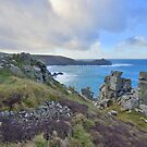 Cornwall: Looking to Gurnard's Head by Rob Parsons