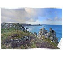 Cornwall: Looking to Gurnard's Head Poster