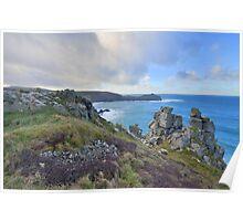 Cornwall: Looking to Gurnard's Head Poster