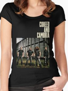 coheed and cambria color before the sun Tour 2016 RP03 Women's Fitted Scoop T-Shirt