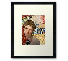 Klimt and Bouguereau  Framed Print