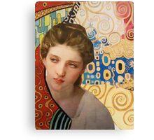 Klimt and Bouguereau  Canvas Print