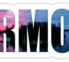 Vermont Summer Sunset Sticker