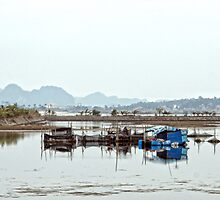 Vietnam: Red River by Kasia-D