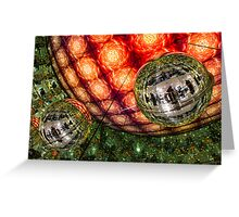 The light is fantastic Greeting Card
