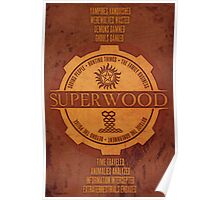 SuperWood Recruiting Poster Poster