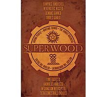 SuperWood Recruiting Poster Photographic Print