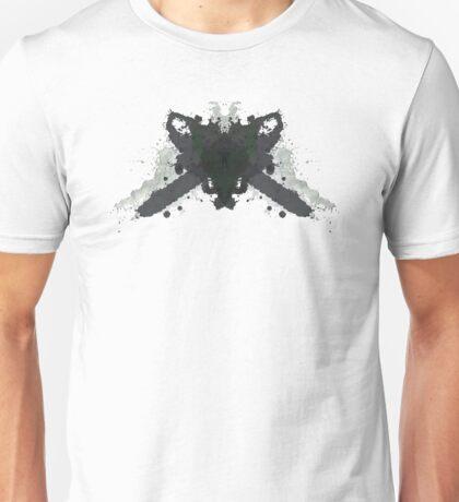Leatherface Texas Chainsaw Massacre Inkblot  Unisex T-Shirt