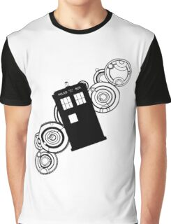 doctor who tardis r Graphic T-Shirt