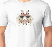 Jason Voorhees Friday the 13th Mask Inkblot Unisex T-Shirt