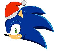 SONIC - CHRISTMAS Photographic Print