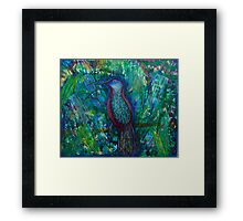 Bird of Perception Framed Print