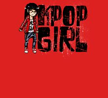 K-Pop Girl Womens Fitted T-Shirt