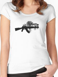 Swords to Ploughshares Women's Fitted Scoop T-Shirt