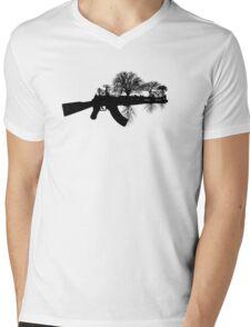 Swords to Ploughshares Mens V-Neck T-Shirt