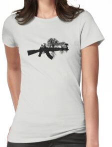 Swords to Ploughshares Womens Fitted T-Shirt