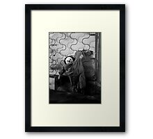 Dirty Doll Framed Print