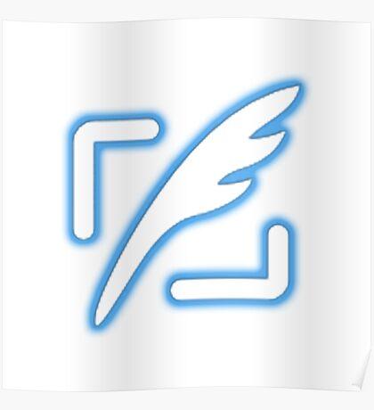Tweet button - Twitter followers Poster