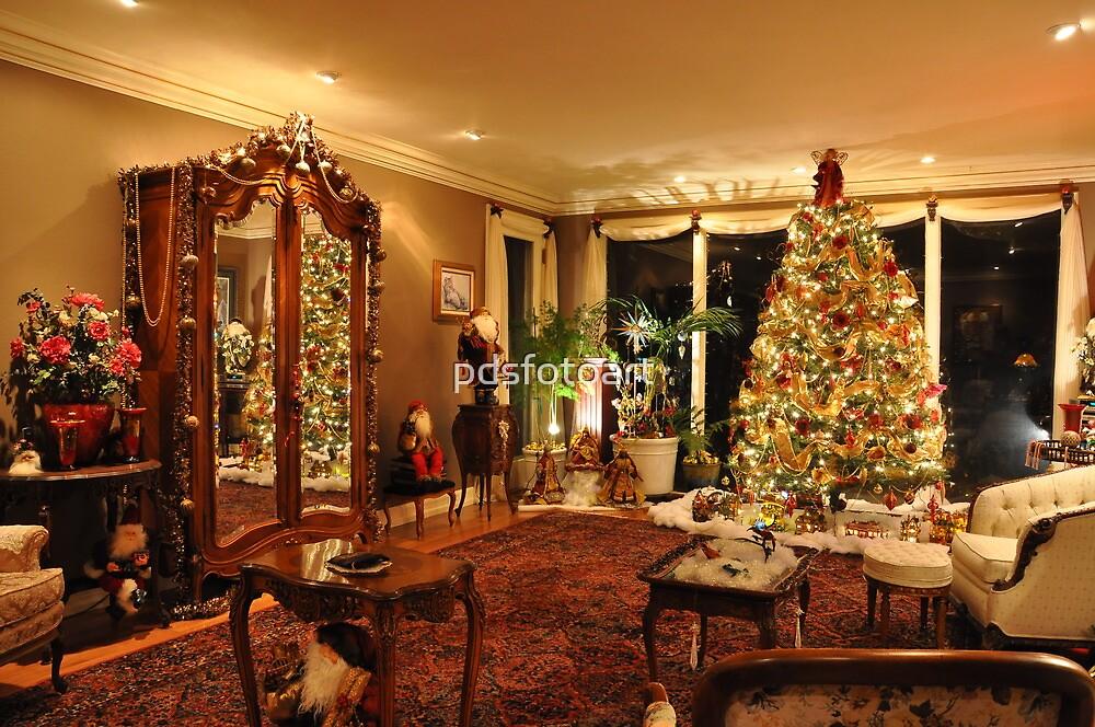 Christmas tree by pdsfotoart