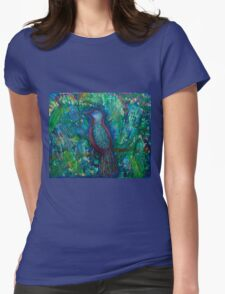 Bird of Perception Womens Fitted T-Shirt
