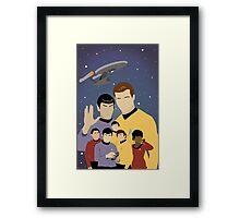 Star Trek Crew Framed Print