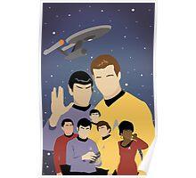 Star Trek Crew Poster