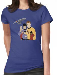 Star Trek Crew Womens Fitted T-Shirt