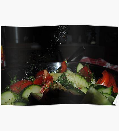 Salad Poster