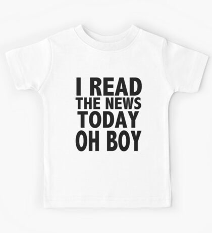 A DAY IN THE LIFE Kids Tee