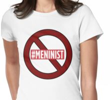 ANTI MENINIST  Womens Fitted T-Shirt