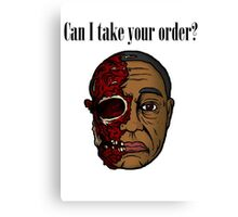 Can I Take Your Order? Canvas Print