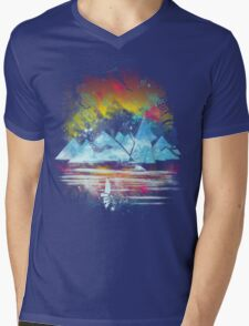 iceland islands Mens V-Neck T-Shirt