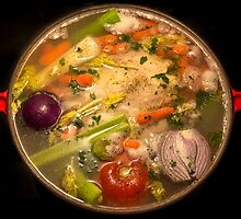 Mom's Chicken Soup by Mikell Herrick